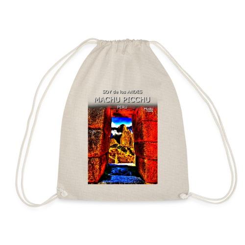 SOY de los ANDES - Machu Picchu II - Drawstring Bag