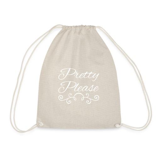 Pretty Please - Drawstring Bag