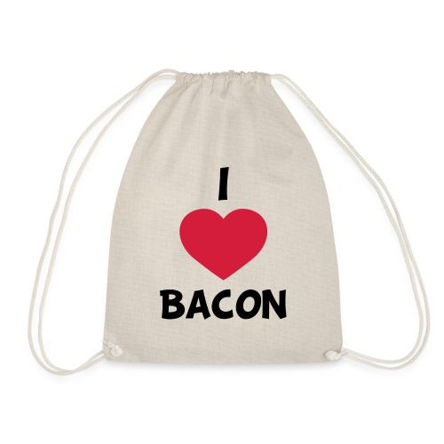 I love bacon - Sportstaske
