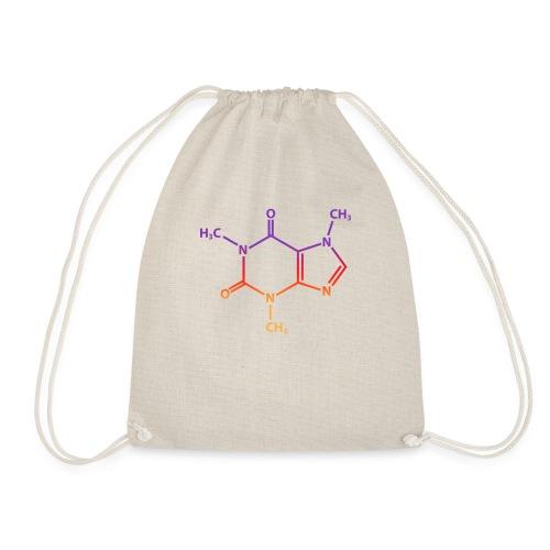 Molecule Caffeine - Drawstring Bag