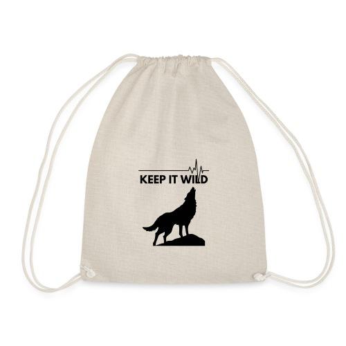 Keep it wild - Turnbeutel