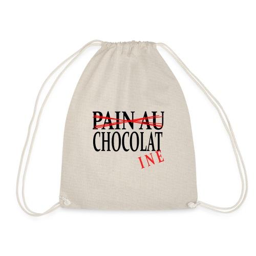 Pain au chocolat? Non, chocolatine - Sac de sport léger