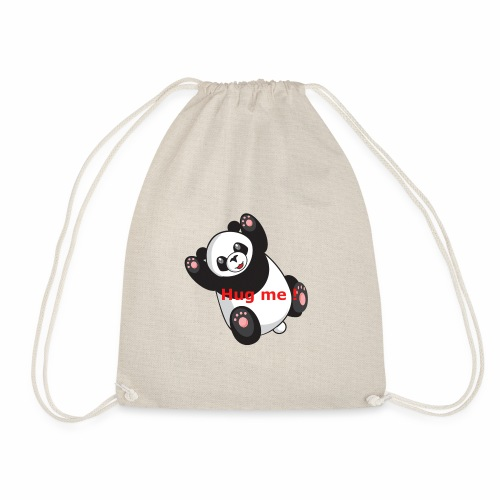 Panda Hug me - Turnbeutel
