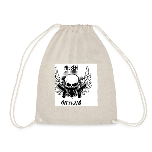 Nilsen Outlaw Head - Drawstring Bag