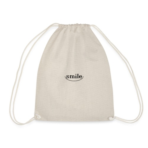 Do not you even want to smile? - Drawstring Bag
