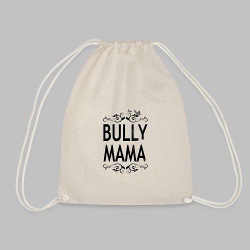 Stolze Bully Mama - Motiv mit Schmetterling - Turnbeutel