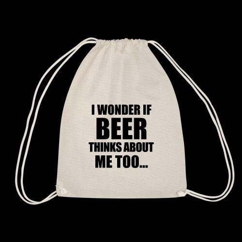 Bier Spruch - Turnbeutel