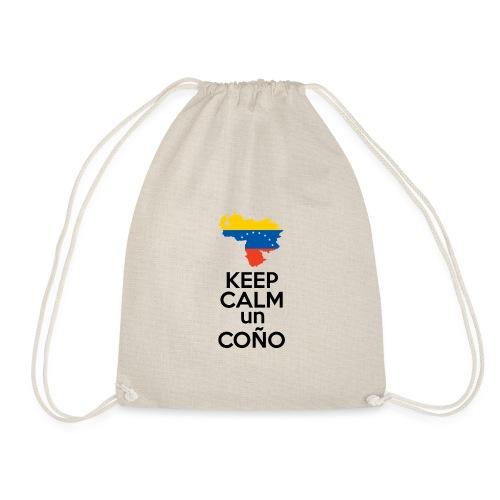 Keep calm Venezuela - Modelo Color y Negro - Mochila saco