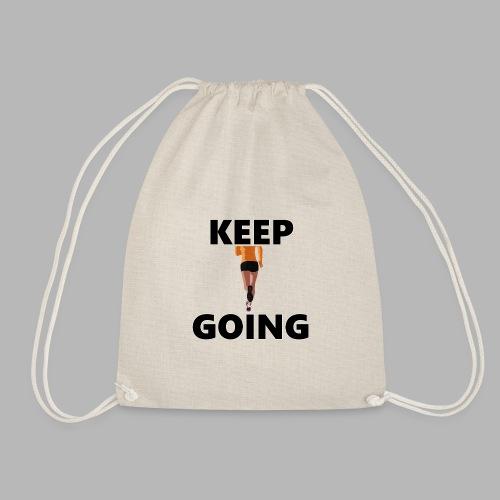 Keep going - Turnbeutel
