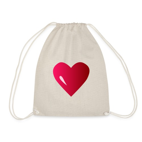 logo corazon rosa by Vexels - Mochila saco