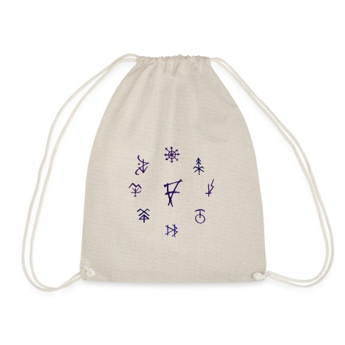 Círculo de runas - Mochila saco