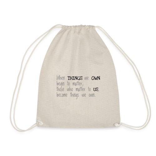 Things - Drawstring Bag