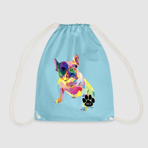 Pardon My French - Drawstring Bag