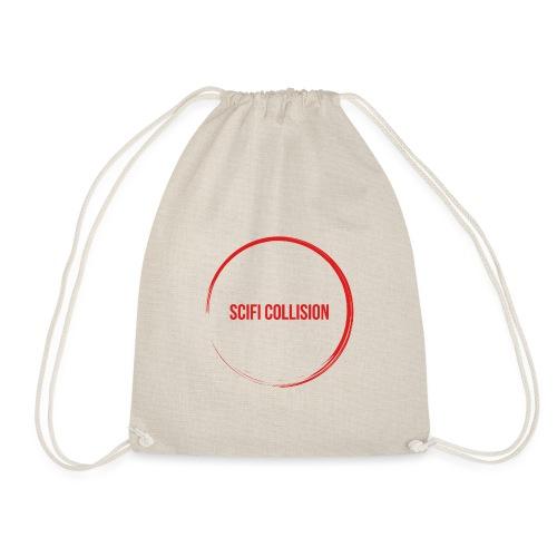 Red Logo - Drawstring Bag