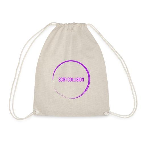 Purple Logo - Drawstring Bag