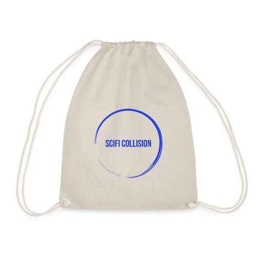 Dark Blue Logo - Drawstring Bag