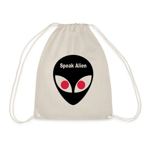 speak alien - Turnbeutel