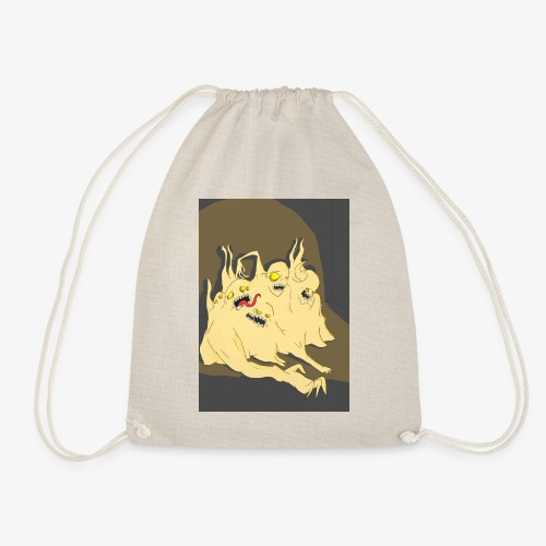 Jester's Museum of Horrors - Specimen 1 - Drawstring Bag