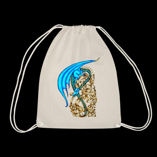 Celtic Dragon - Drawstring Bag