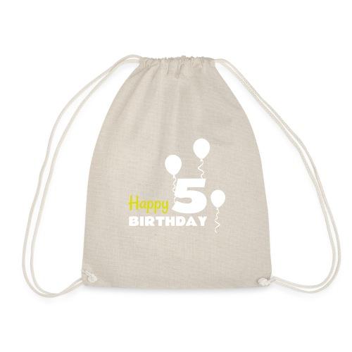 HAPPY birthday5 - Mochila saco
