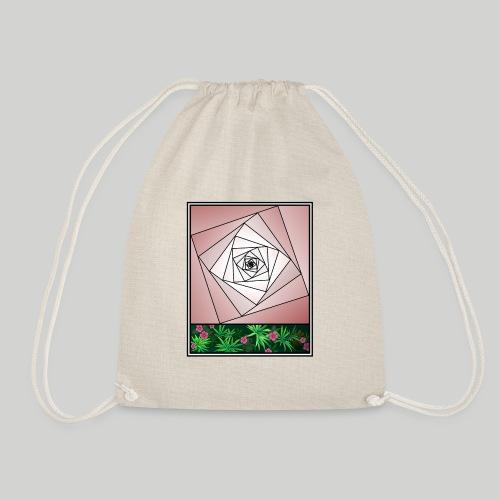 Unendlichkeitsrose - infinity rose - Turnbeutel