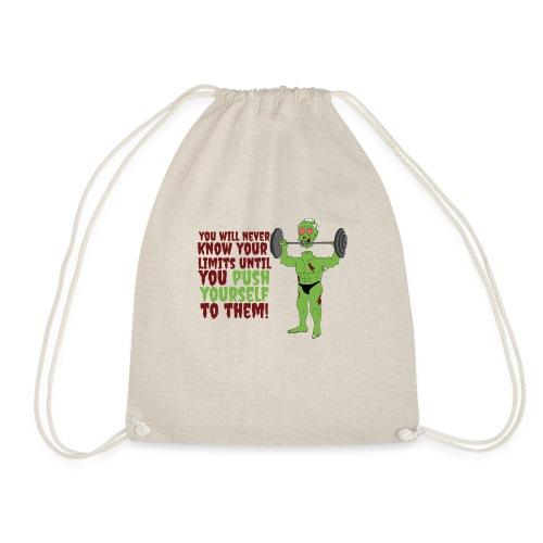 Push yourself - Drawstring Bag