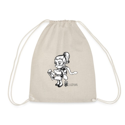 2020 Lockdown Dudette - Drawstring Bag