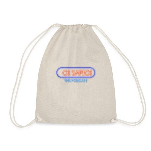 podcast oi sapioi - Drawstring Bag