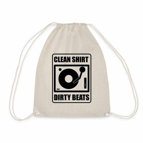 Clean Shirt Dirty Beats - Gymtas