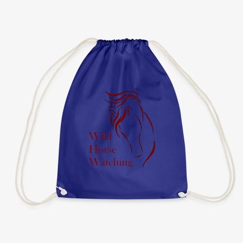 Logo Aveto Wild Horses - Sacca sportiva