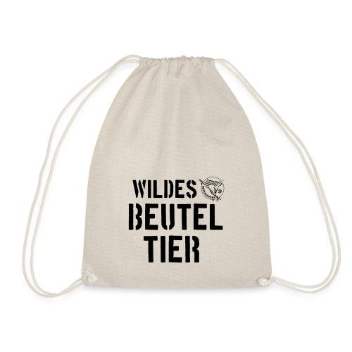 Wildes Beuteltier - Turnbeutel
