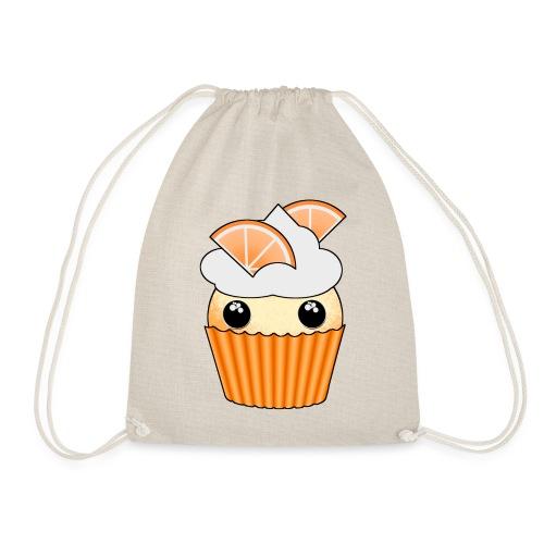 muffins apelsin orange med klyftor - Drawstring Bag