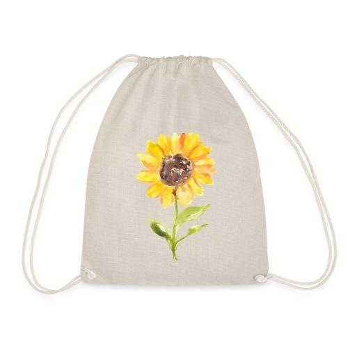 Sonnenblume Sunflower - Turnbeutel