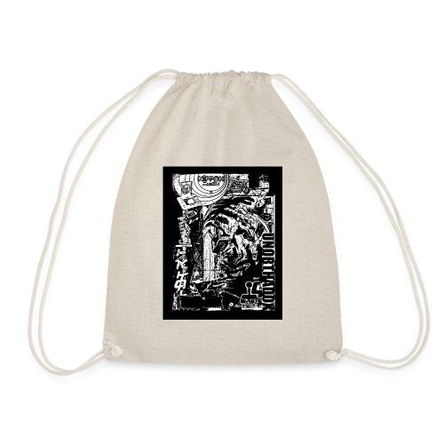 Japan 3 - Drawstring Bag