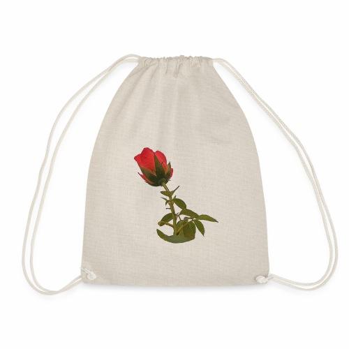 Rote Kletter Rose - Turnbeutel