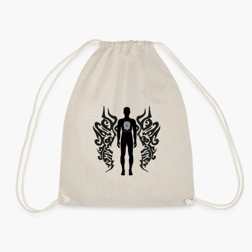Houseology Original - Angel of Music (INVERSE) - Drawstring Bag