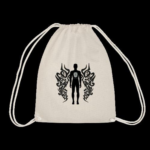 Houseology Original - Angel of Music (INVERSE) - Drawstring Bag
