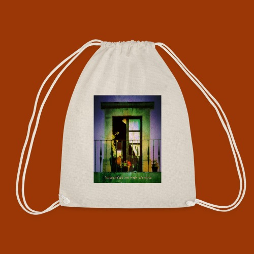 Windows in the Heart - Drawstring Bag