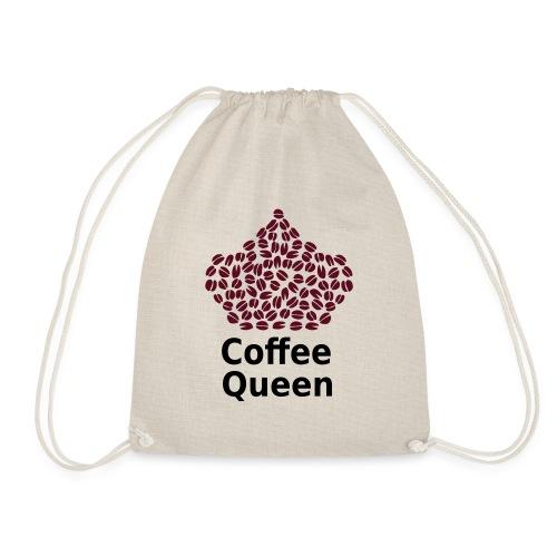 Coffee Queen T-Shirt - Love Coffee T-Shirt - Drawstring Bag