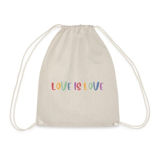 LOVEI is LOVE - Mochila saco