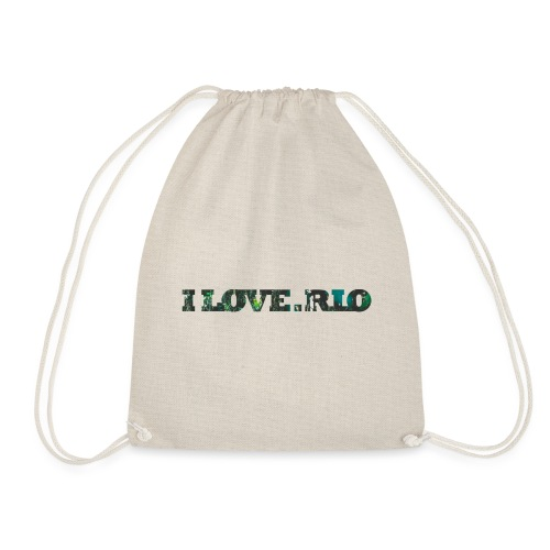 ILOVE.RIO TROPICAL N ° 3 - Drawstring Bag