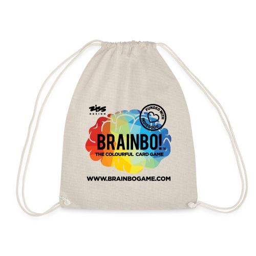 BRAINBO BLK - Drawstring Bag