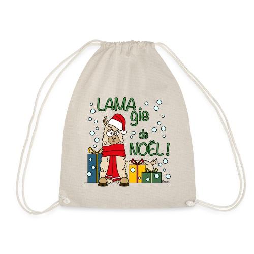 Lama, Magie de Noël, Happy Christmas, Pull moche - Sac de sport léger