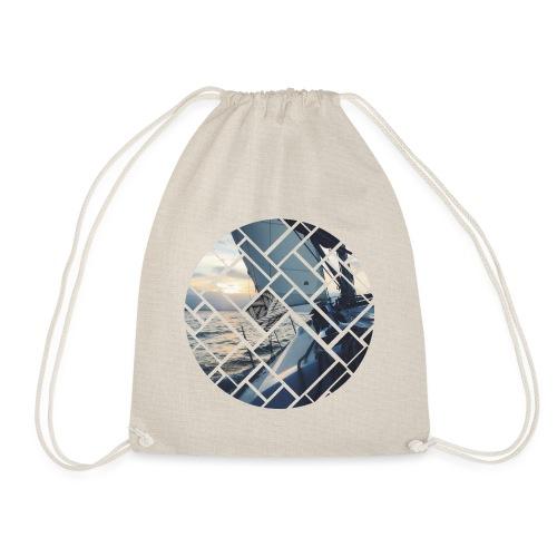 Ocean Sailing Graphic Design - Turnbeutel