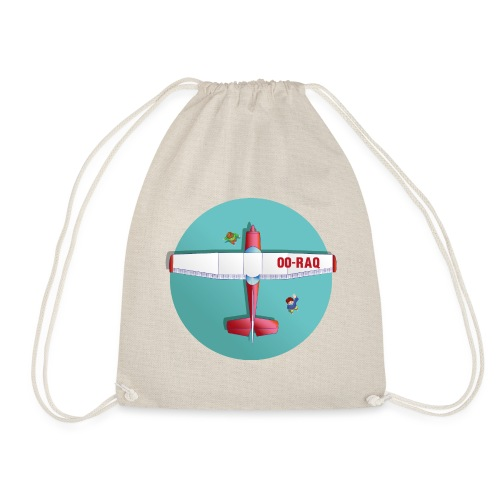 Cessna social distancing - Drawstring Bag