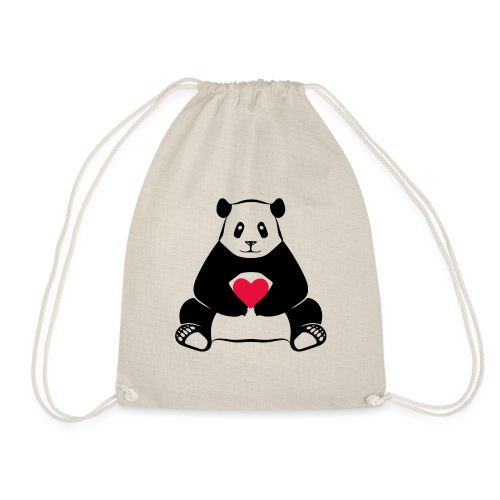 Panda Love - Drawstring Bag