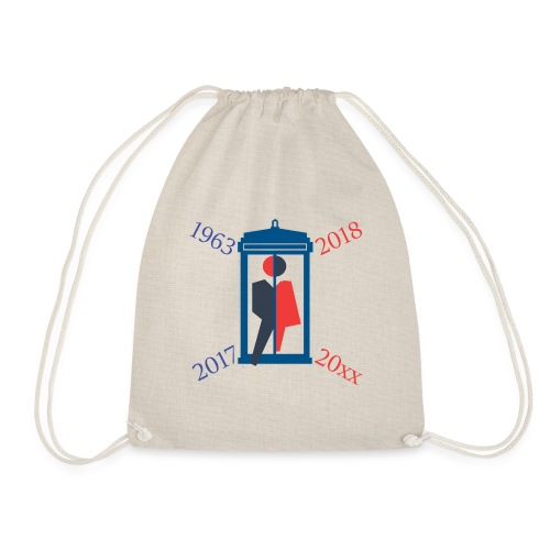 Mr or Ms Who - Drawstring Bag