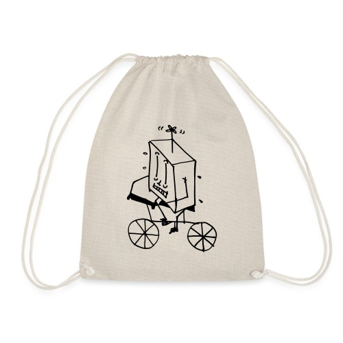 bike thing - Drawstring Bag