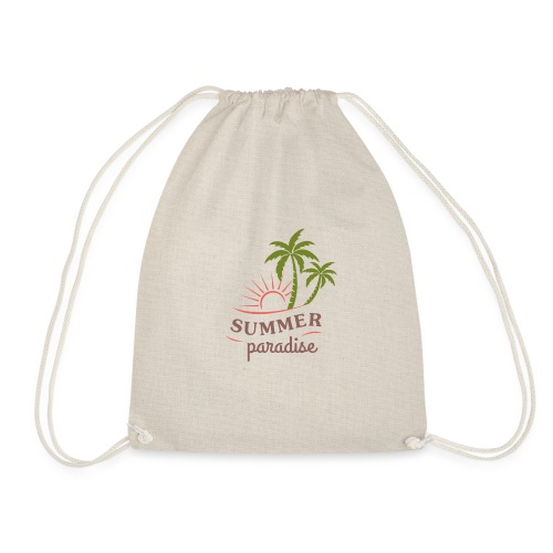Summer paradise - Drawstring Bag