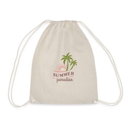 Summer paradise - Drawstring Bag